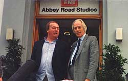 George Martin at Abbey Road